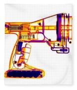 Toy Vortex Gun Fleece Blanket
