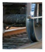 Train Tires Fleece Blanket