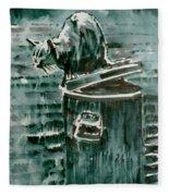 Trashcan Tom Fleece Blanket