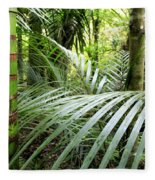 Tropical Jungle Fleece Blanket