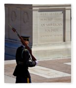 Unknown Soldier Fleece Blanket
