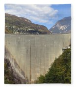 Valle Verzasca - Ticino Fleece Blanket
