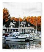 Vancouver Rowing Club Fleece Blanket