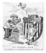 Venezuela Dispute, 1902 Fleece Blanket