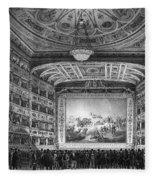 Venice: Teatro La Fenice Fleece Blanket