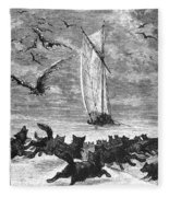 Verne: Around The World Fleece Blanket