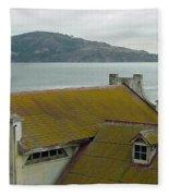 View From Alcatraz II Fleece Blanket