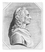 Voltaire (1694-1779) Fleece Blanket