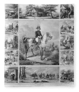 W. H. Harrison (1773-1841) Fleece Blanket
