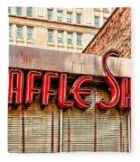 Waffle Shop Fleece Blanket