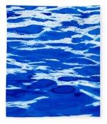 Blue Water Fleece Blanket