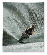Water Skiing Magic Of Water 27 Fleece Blanket