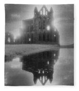 Whitby Abbey Fleece Blanket