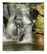 Widows Creek Falls Fleece Blanket