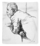William Ernest Henley Fleece Blanket