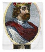 William II (1056-1100) Fleece Blanket