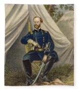 William Tecumseh Sherman Fleece Blanket