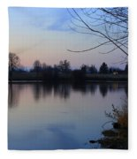 Winter Calm Fleece Blanket