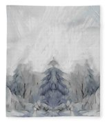 Wintertime Fleece Blanket