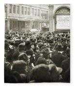 World Series, 1911 Fleece Blanket