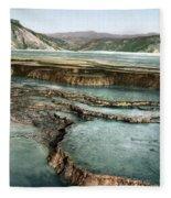 Yellowstone: Hot Spring Fleece Blanket