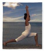 Yoga Fleece Blanket