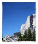 Yosemite Half Dome Fleece Blanket