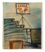 Zenda Tap Fleece Blanket
