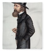 Alfred Tennyson (1809-1892) Fleece Blanket