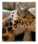 Baringo Giraffe Fleece Blanket