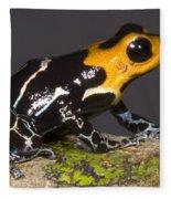 Crowned Poison Frog Fleece Blanket