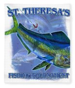 Custom T Shirts Fleece Blanket