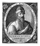 Francisco Pizarro Fleece Blanket