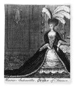 Marie Antoinette (1755-1793) Fleece Blanket