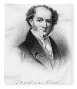 Martin Van Buren (1782-1862) Fleece Blanket