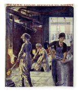 World War I: U.s. Poster Fleece Blanket