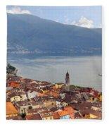 Ascona - Ticino Fleece Blanket