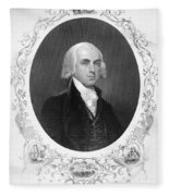 James Madison (1751-1836) Fleece Blanket