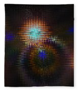 Abstract Art Fleece Blanket