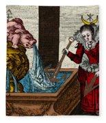 Alchemy Illustration Fleece Blanket