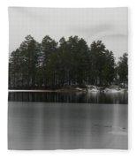 Haukkajarvi First Snow Fleece Blanket