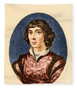 Nicolaus Copernicus, Polish Astronomer Fleece Blanket