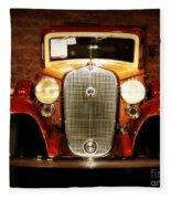 12v Collector Car Fleece Blanket