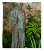 Gardens In Carmel Monastery Fleece Blanket