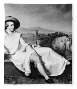 Johann Goethe (1749-1832) Fleece Blanket