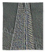 The Shard Fleece Blanket