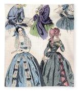 Womens Fashion, 1842 Fleece Blanket