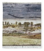 Battle Of Concord, 1775 Fleece Blanket