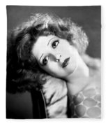 Clara Bow (1905-1965) Fleece Blanket