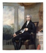 James Monroe (1758-1831) Fleece Blanket